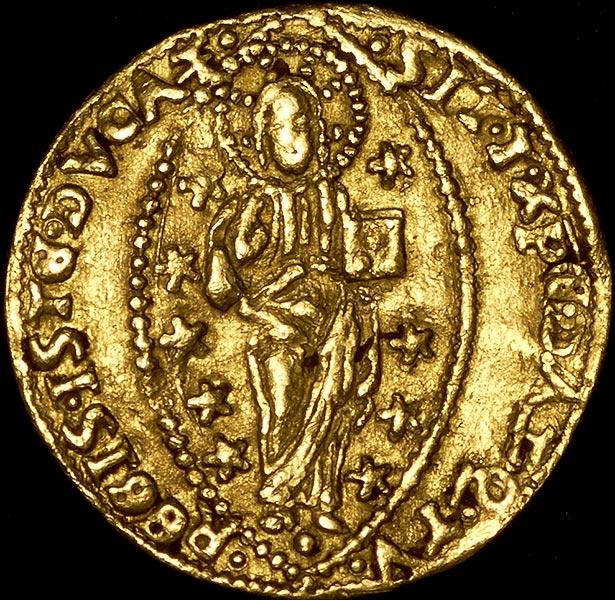 Цехин 1501-1521 (венеция, италия) - лот 886.