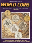 "Книга Krause ""Standart catalog of world coins  21st edition"" 1994"