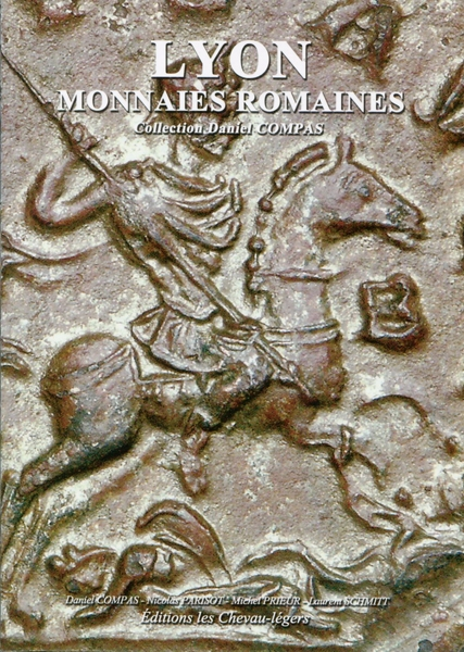 "Книга ""Lyon monnaies romaines"" collection Daniel Compas"